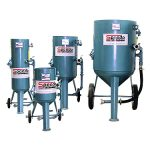 A range of high production single chamber blast machines are available, manufactured to suit the requirement of the industry.