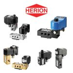 Herion specialize in several types of Solenoid Valves, Remote mounted Solenoid Valves, Pilot operated spool valves and Direct & Indirect solenoid actuated poppet valves. Herion valves can be electrically or pneumatically operated and are used to pilot larger actuators or cylinders.