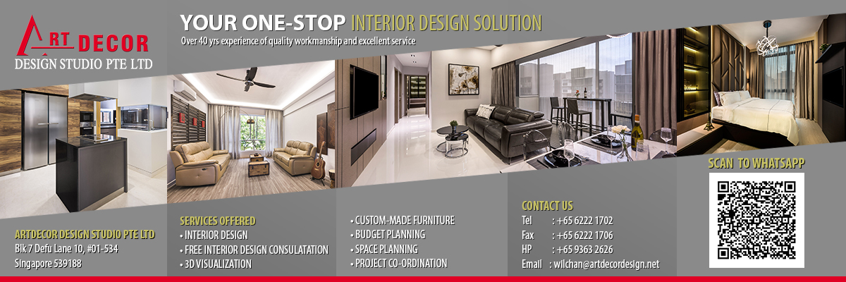 Personalised Design Consultation, Layout & Space Planning, Project Management, 100% Quality Craftsmanship, Dedicated Pre-and-After Sales Customer Care in Singapore