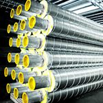 ISOCLAD pre-insulated pipes are used for air-conditioning chilled water piping system, process piping system and domestic hot water piping system and is able to withstand temperatures ranging between -50°C to +140°C.