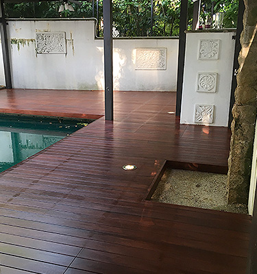 We provide residential wood decking repair, maintenance, and installation services.