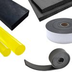 A variety of Rubber including rubber sponge, rubber rods, rubber sheets and rubber tubes available with standard and custom made sizes can now be availed at Straits Rubber Engineering Plastic Pte Ltd. We bring you general rubber products classified into synthetic rubber, natural rubber, Red Linatex rubber as well as Silicone Rubber, Polyurethane Rubber, Viton, EPDM and Dielectric Mat. At Straits Rubber and Engineering Plastic Pte Ltd, quality rubber products with excellent physical and chemical structures are provided for various industrial and household applications. Some of the significant uses of our rubber products include belts, hoses, medical gloves, matting, tires, tubes and many more. These flexible rubber products are designed and manufactured in different forms, shapes and sizes for specific applications.