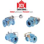 OCV designs hydraulically-operated, diaphragm-actuated, automatic control valves for over 50 years in the industry. OCV's high quality control valves can be found throughout the world – whether it's a municipal water system in the US, an oil refinery in Russia or an irrigation system in Europe.