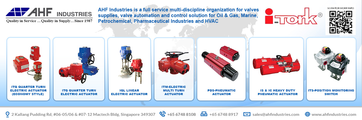 AHF Group is a full multi-discipline organization for valve suppliers/repairs, valve automation and control solutions; for the Marine, Petrol Chemical, Refinery, Power Generation , Mining and Oil and Gas Industries.