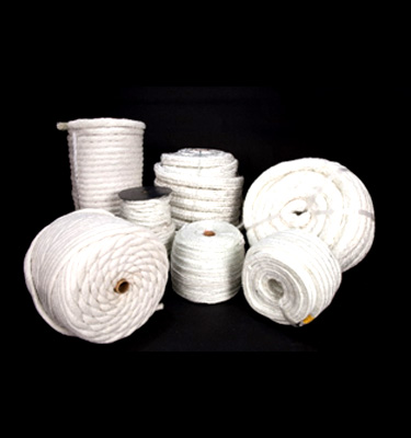 Our product range of ropes composed of fire resistant and high temperature materials.