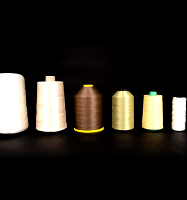 Our product range of threads composed of high temperature materials.
