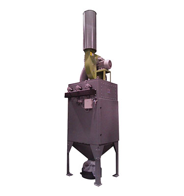 The 3-axis auto grit blast is a direct pressure blast with double pot auto refill for continuous feed types.