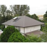Sheet Metal International Systems Pte Ltd specializes in a roofing technique known as Copper Roof Cladding.