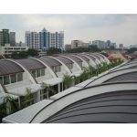 Sheet Metal International Systems Pte Ltd specializes in a roofing technique known as Curved Copper Roof Cladding.