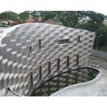 Sheet Metal International Systems Pte Ltd specializes in Custom Designed Pure Titanium Wall Cladding.