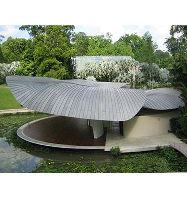 Custom Designed Titanium Zinc Roof And Wall Cladding G Search Singapore