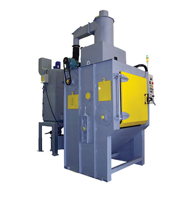 Endless Belt Grit Blast Machine range are designed and manufactured to carry out batch blasting of small and medium size components using mineral abrasive like Aluminium Oxide, Silicon Carbide or glass beads.