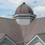 Sheet Metal International Systems Pte Ltd specializes in a roofing technique known as TECU Copper Roof Cladding.