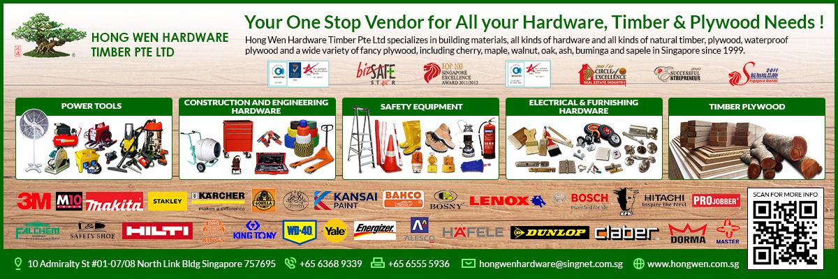 Hong Wen Hardware Timber Pte Ltd