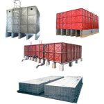 Sunnik Pressed Steel Panel Water Tankis used widely in the Fire protection industry as Sprinkler, Wet Riser and Hose reel tank. On some occasions, SUS316 tanks are used as potable water tanks in the plumbing industry too. The various types of pressed steel tanks are as follows.