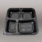 Bento trays are of great help in separating different dishes from one another. This 4-compartment is the best choice when you are serving packed meals with more than 1 main dish being served. The high-quality 4-compartment bento tray is being sold at Liang Teck Plastic Pte. Ltd.