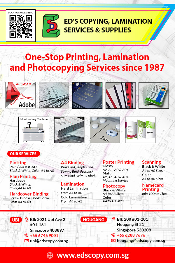 ED'S Copying, Lamination Services & Supplies (ED'S) has been established since 1987.
